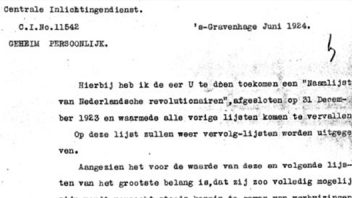Rapporten Centrale Inlichtingendienst 1919-1940