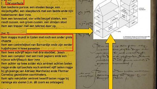 Virtuele interieurs als interfaces voor historisch onderzoek met Big Data