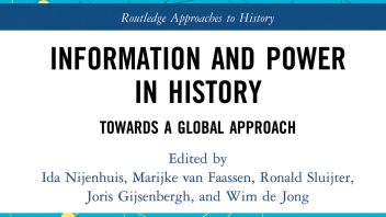 Information and Power in History verschenen