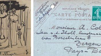 Vier nieuwe brieven van Piet Mondriaan ontdekt