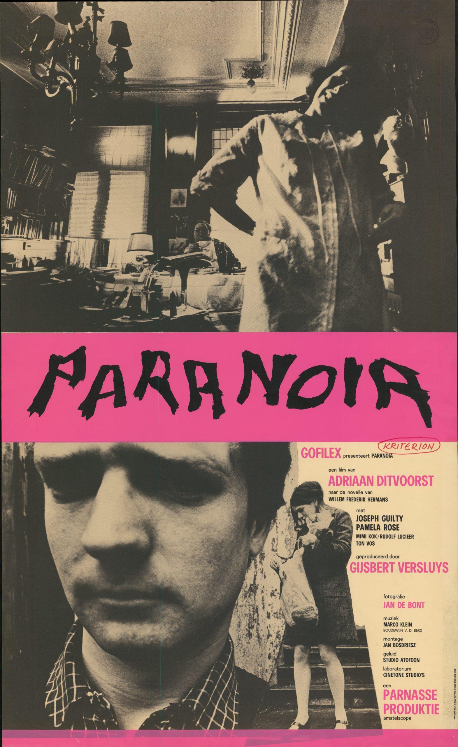 Filmposter Paranoia