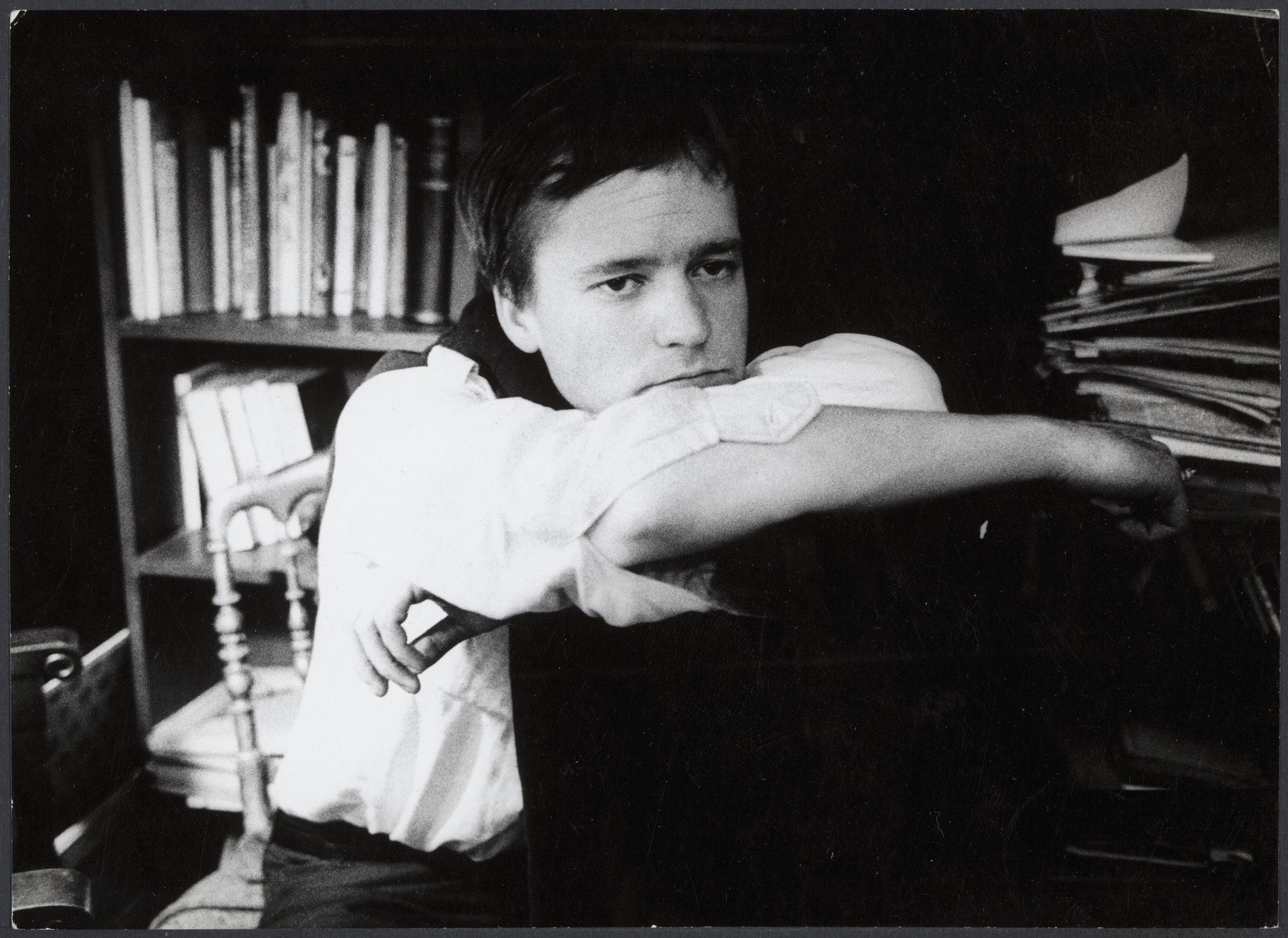 Acteur Kees van Eyck in de film Paranoia