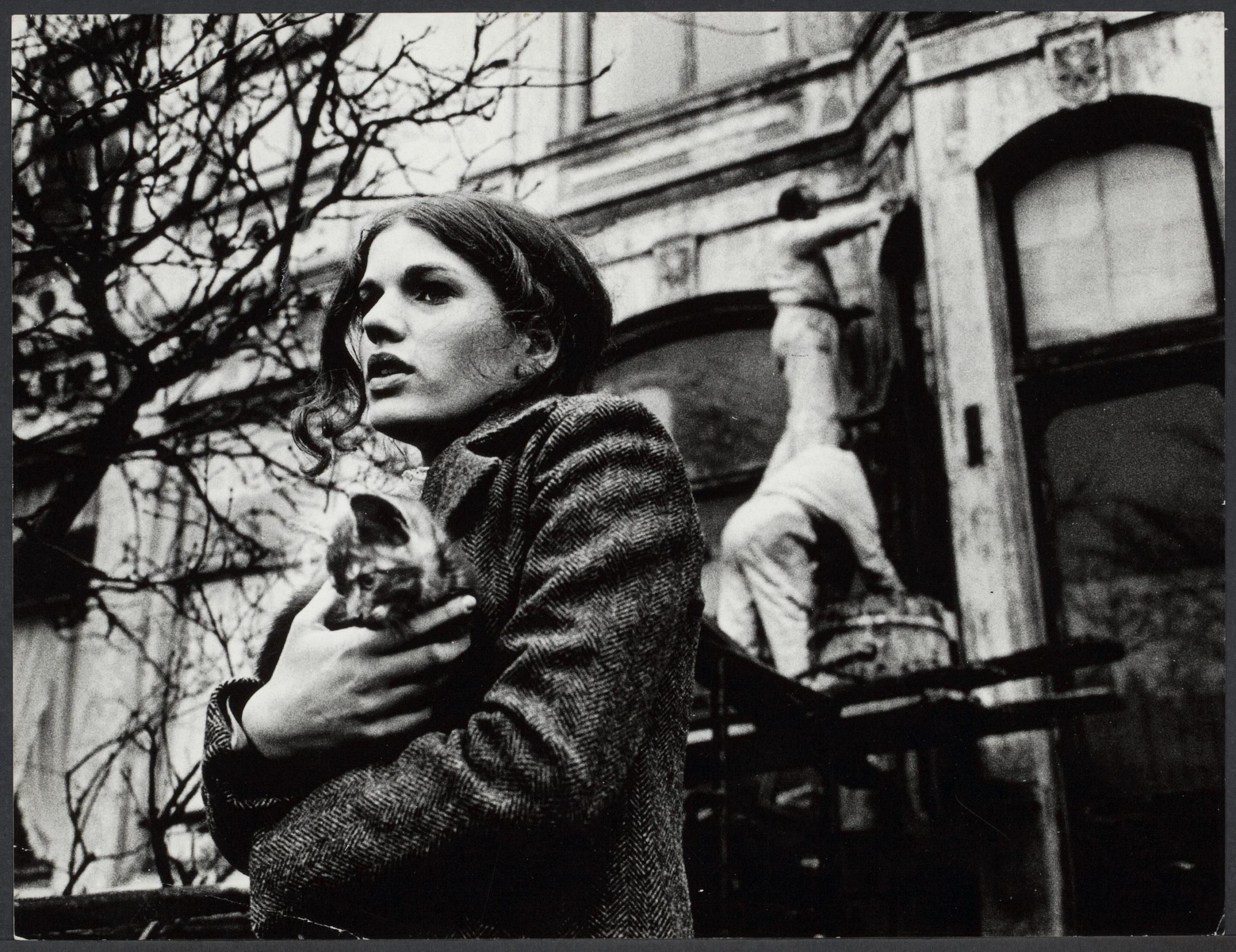 Actrice Pamela Koevoets in de film Paranoia